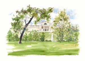 Art Museum Forest Park golf art