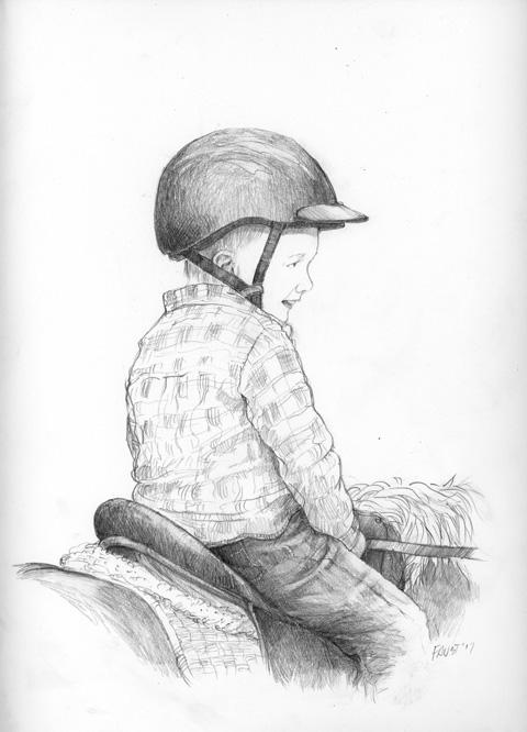 Happy rider!